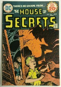 HOUSE OF SECRETS#124 FN 1974 DC BRONZE AGE COMICS
