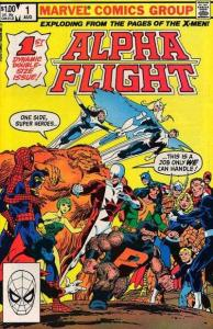 Alpha Flight (1983 series) #1, VF (Stock photo)