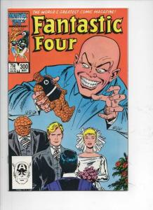 FANTASTIC FOUR #300 VF/NM Wedding, Buscema, 1961 1987 Marvel, more FF in store
