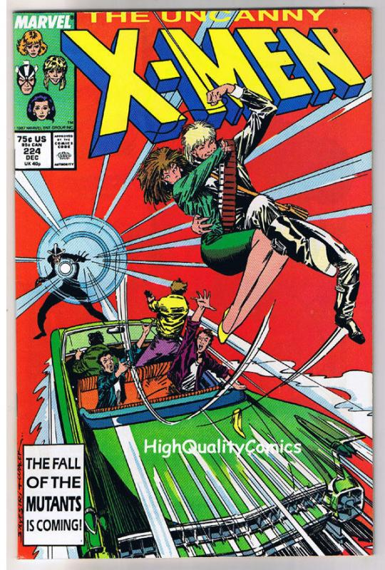 X-MEN #224, VF/NM, Rogue,Storm, Chris Claremont, Uncanny, more in store