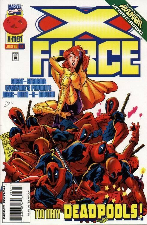 X-FORCE (1991 MARVEL) #56 NM- AGT8UV