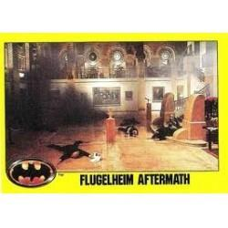 1989 Batman The Movie Series 2 Topps FLUGELHEIM AFTERMATH #150