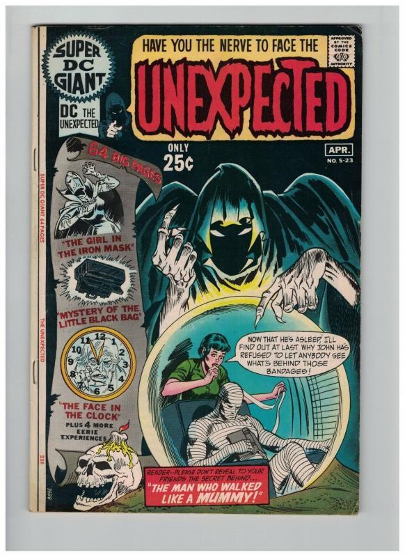 SUPER DC GIANT 23 (UNEXPECTED) VG-F April 1971 GIANT