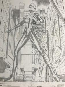 Spider-girl 57 Original Art Cover Pat Olliffe Al Williamson May Mayday Parker Nm