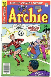 Archie Comics #304 1981- Betty & Veronica- Decarlo soccer cover