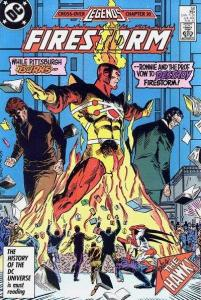Fury of Firestorm (1982 series) #56, NM- (Stock photo)