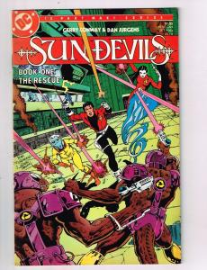 Sun Devils #4 VF DC Comics Comic Book Conway Jurgens Oct 1984 DE42