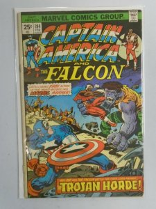 Captain America #194 3.0 GD VG partially detached cover (1976 1st Series)