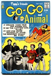 TIPPY'S FRIENDS GO-GO AND ANIMAL #6 1967-Mokees cover