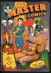 MASTER COMICS #75-CAPTAIN MARVEL JR.-WITCH DOCTOR CVR-DENTIST STORY