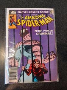 AMAZING SPIDER-MAN #219 Marvel Comics 1981 VF Frank Miller Art!