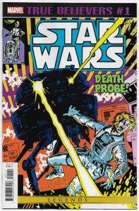 True Believers Star Wars Death Probe #1 Reprints Issue #45 (Marvel, 2020) NM