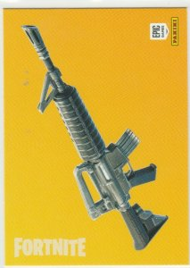 Fortnite Assault Rifle 102 Uncommon Weapon Panini 2019 trading card series 1