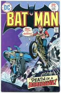 Batman #264 1975-DC Bronze Age- Motorcycle cover VF