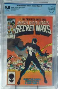 Marvel Super Heroes Secret Wars #8 - CBCS 9.8 - Symbiote (Venom) Costume Origin