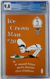 Ice Cream Man #20 CGC 9.8 Image Comics 2020. LCSD Dr Seuss Variant