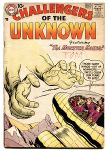 Challengers of the Unknown #2 comic book Jack Kirby-1958-DC Silver-Age