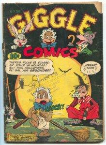 Giggle #35 1946- Superkatt- Golden Age funny Animals- F/G
