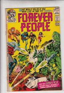 Forever People #7 (Mar-72) VF/NM High-Grade Big Bear, Beautiful Dreamer, Seri...