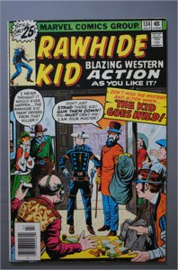 Rawhide Kid  #134    F/Better  Actual Photo