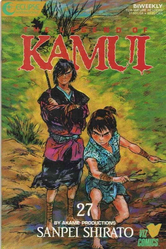 Legend of Kamui, The #27 VF/NM; Eclipse | save on shipping - details inside