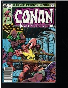 Conan the Barbarian #140 (Marvel, 1982)