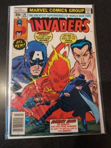 THE INVADERS #26 BRONZE AGE HIGH GRADE VF/NM