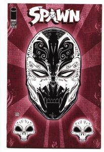 SPAWN #237 2013 Low print run great cover NM-