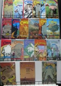 CONCRETE COLLECTION! 21 ISSUES! Paul Chadwick! Color Special, Fragile Creatures