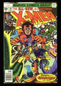X-Men #107 FN 6.0 1st Full Starjammers!