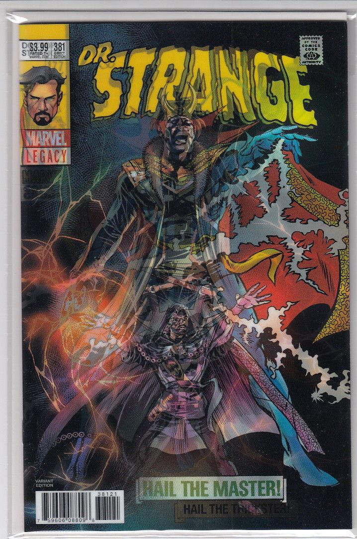 Doctor Strange #381 Deodato Lenticular Variant Loki Dr Marvel Legacy 2017