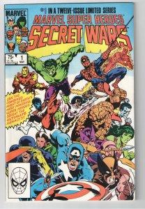 MARVEL SUPERHEROES SECRET WARS #1 NM 9.2 STUNNER!