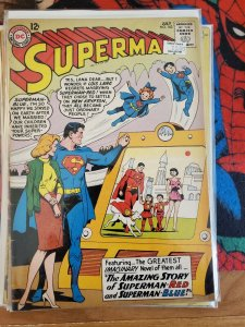 Superman #162 (DC,1963) Condition VG