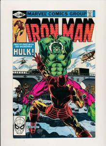 MARVEL IRON MAN #131 INCREDIBLE HULK appearance 1979  VF++(PF709)