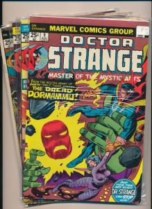 MARVEL LOT of 4-DR. STRANGE Master of the Mystic Arts #5,#7-9 '74/'75 VF(PF294)