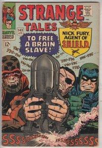 Strange Tales #143 (Apr-66) VF+ High-Grade Nick Fury, S.H.I.E.L.D., Dr. Strange