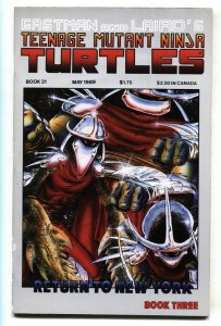 TEENAGE MUTANT NINJA TURTLES #21 comic book 1989 Mirage