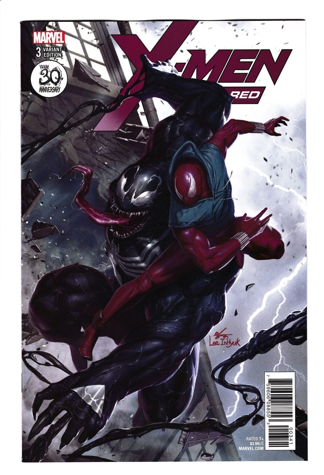 X-Men Red #3 Venom 30th Anniversary Variant (Marvel, 2018
