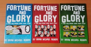 Fortune and Glory 1-3 Complete Set Run! ~ FINE FN ~ 1999 Oni Comics
