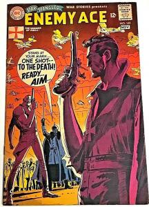STAR SPANGLED WAR STORIES#141 FN 1968 DC SILVER AGE COMICS
