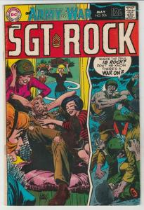 Our Army at War #206 (May-69) FN/VF+ Mid-High-Grade Easy Company, Sgt. Rock