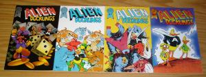 Alien Ducklings #1-4 VF/NM complete series - anthropomorphics - blackthorne 2 3