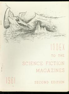 Index To The Science Fiction Magazines Fanzine 1961 Pulps VF