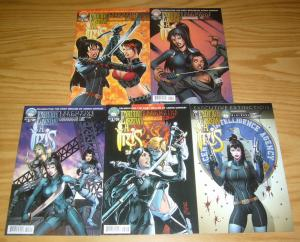 Executive Assistant: Iris vol. 3 #1-5 VF/NM complete series - all A variants set