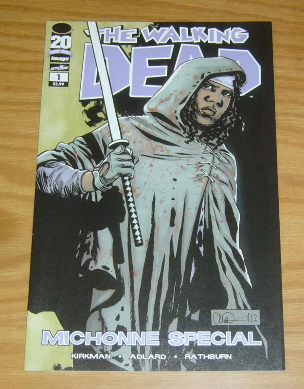 Walking Dead: Michonne Special #1 VF/NM robert kirkman image comics one-shot