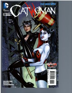 Catwoman #39 (2015) Jim Balent Harley Quinn Variant
