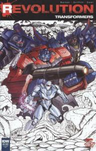 Transformers, The: Revolution #1H VF; IDW | save on shipping - details inside