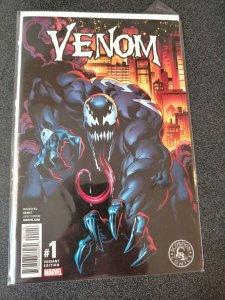 venom #1 scorpion comics variant BAGLEY