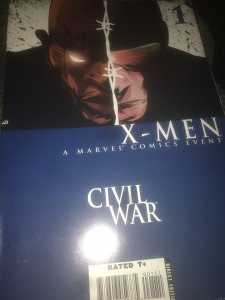 Marvel X-Men Civil War #1 Mint Hot