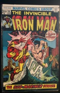 Iron Man #54 (1973)